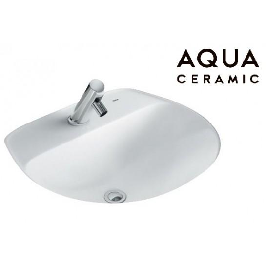 Chậu Rửa Lavabo Inax AL-2094V Âm Bàn AquaCeramic Chậu Rửa Lavabo