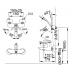 Vòi Sen Tắm Inax BFV-4103S-5C Vòi Sen, Vòi Rửa