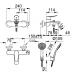 Vòi Hoa Sen Inax BFV-503S Nóng Lạnh Cao Cấp Vòi Sen, Vòi Rửa