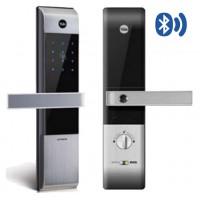 Khóa điện tử Yale YDM3109 Silver Thẻ Từ - Bluetooth Thiết Bị Khóa Cửa