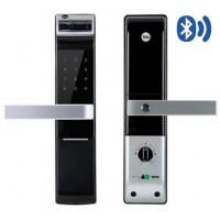 Khóa Điện Tử Yale YDM4109+ Black Vân Tay - Bluetooth Thiết Bị Khóa Cửa
