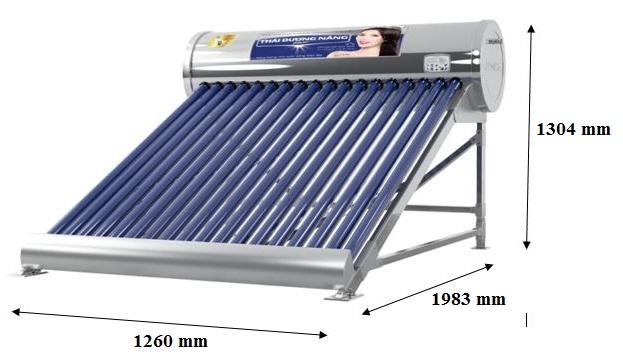 Bản vẽ kỹ thuật máy năng lượng Sơn Hà 140 L Gold