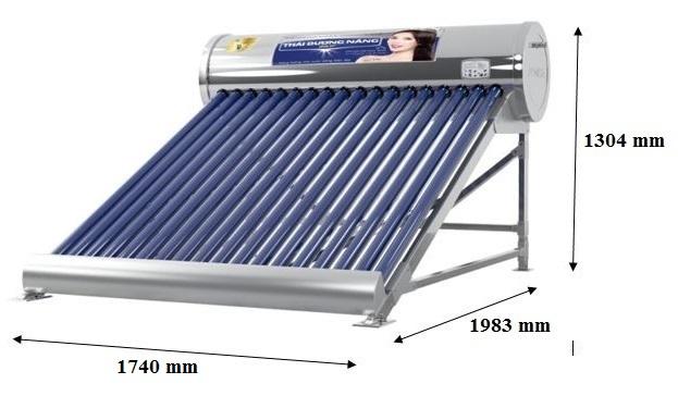 Bản vẽ kỹ thuật máy năng lượng Sơn Hà 200 L