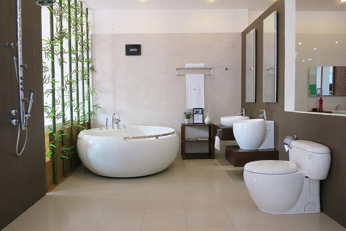 kinh nghiệm chọn mua bồn tắm thiết bị vệ sinh toto