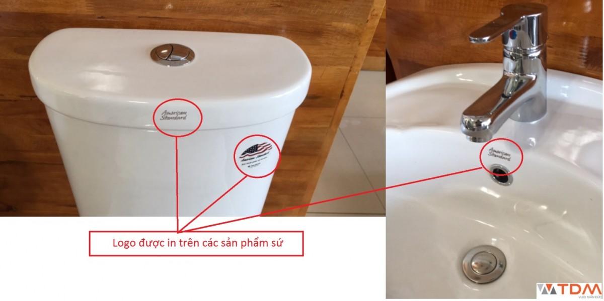 Cách phân biệt thiết bị vệ sinh American Standard thật hay giả