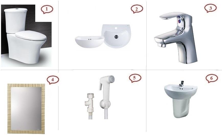 Khuyến mãi trọn bộ thiết bị vệ sinh Caesar 2018