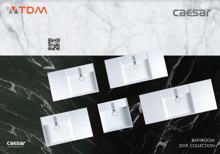 Catalogue thiết bị vệ sinh Caesar 2018 đầy đủ