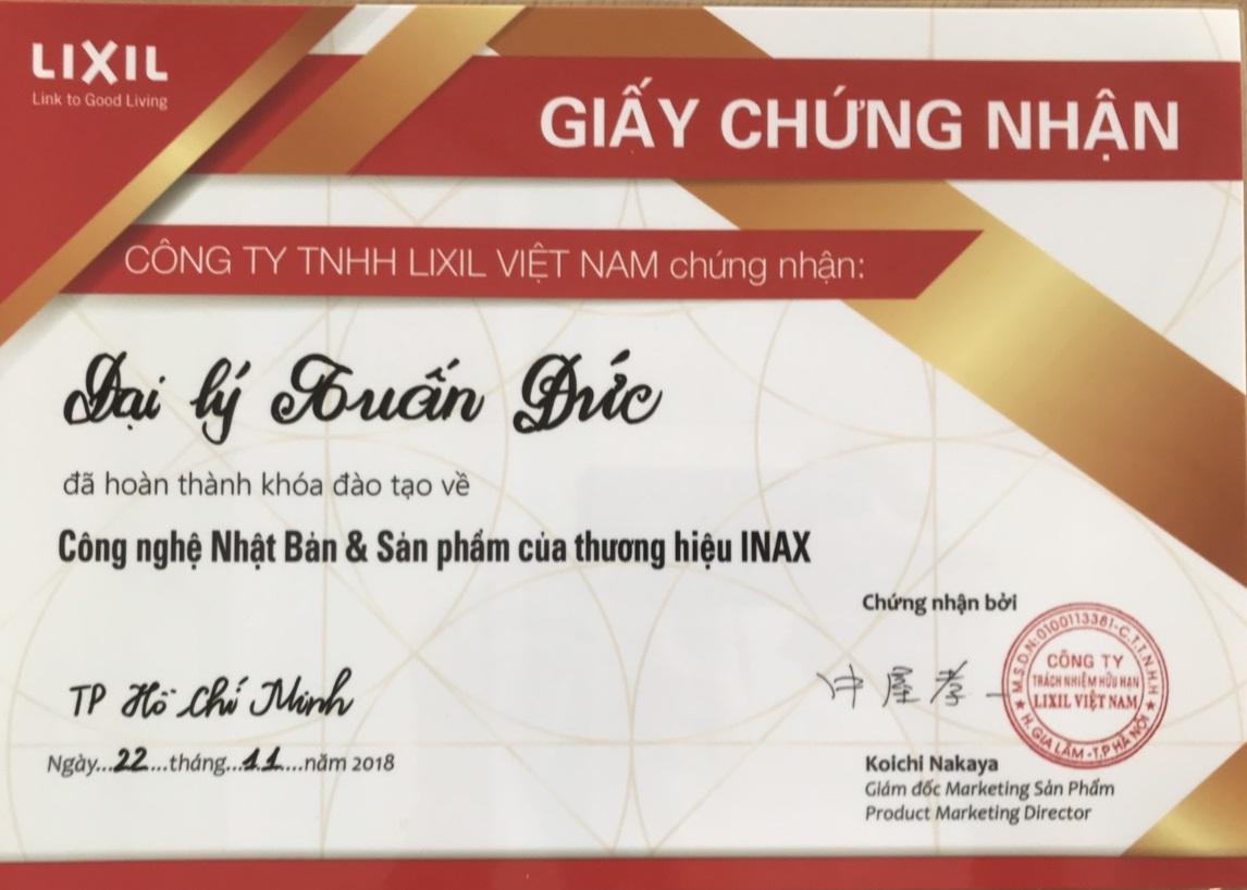 Đại lý thiết bị vệ sinh INAX Biên Hòa – Đồng Nai chính hãng 100%
