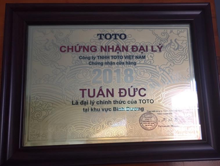 Đại lý thiết bị vệ sinh TOTO Biên Hòa – Đồng Nai 100% chính hãng