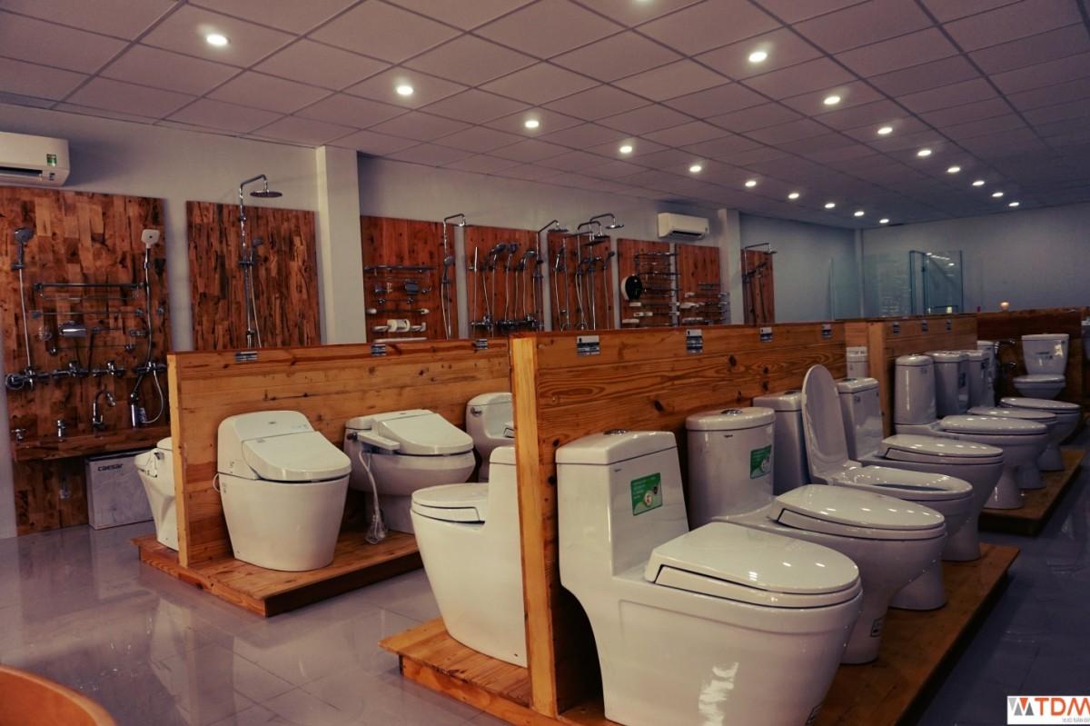 Nơi bán thiết bị vệ sinh Viglacera (bồn cầu, lavabo, sen vòi) tại Cần Thơ