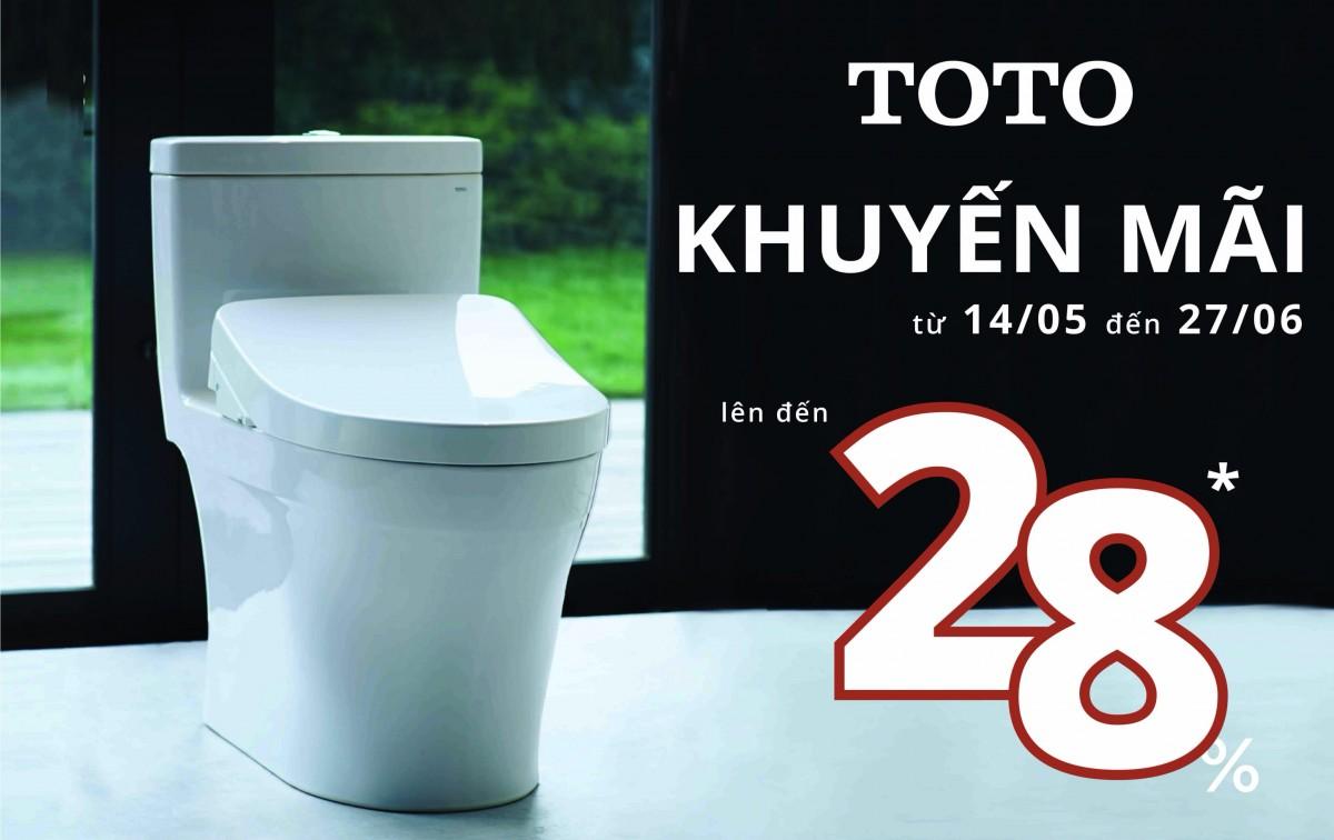 Khuyến mãi thiết bị vệ sinh TOTO mùa Hè 2019 giảm giá đến 30%
