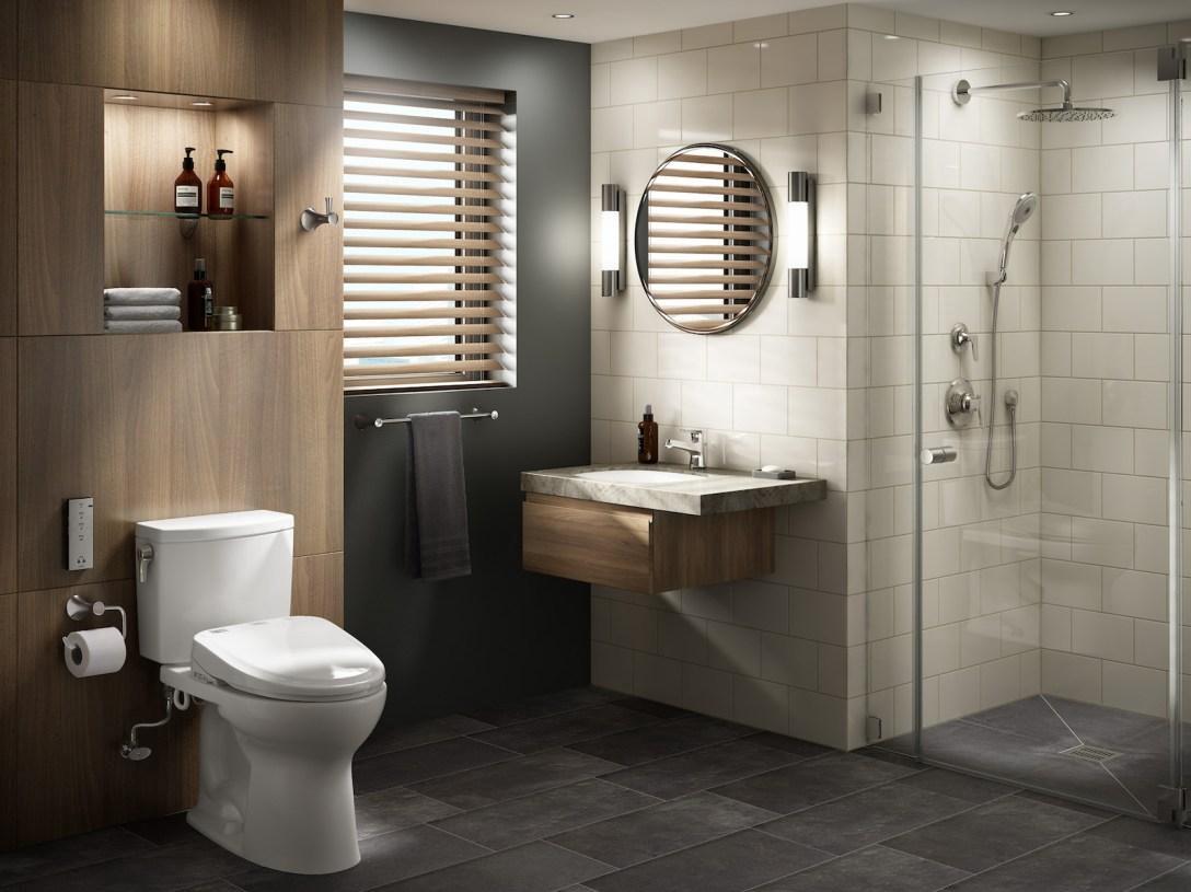 Những sản phẩm thiết bị vệ sinh tất yếu trong nhà tắm