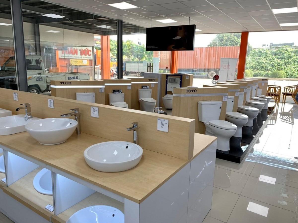 Cửa hàng đại lý thiết bị vệ sinh TOTO tại Cần Thơ giá tốt chính hãng