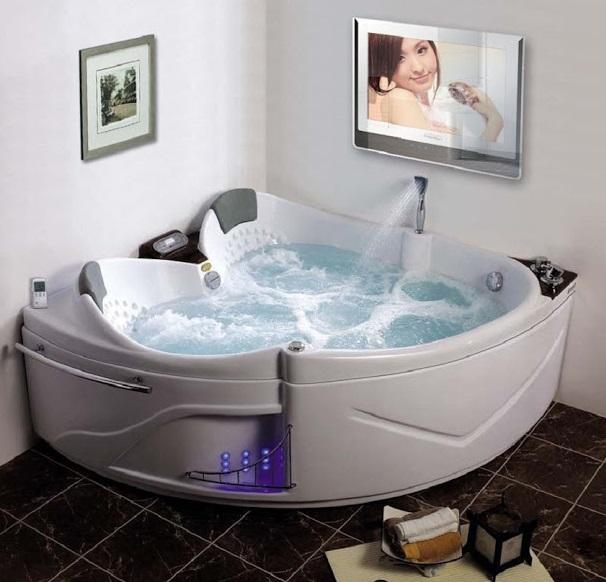 Mẫu bồn tắm sục thủy lực massage hiện đại dùng cho gia đình năm 2020