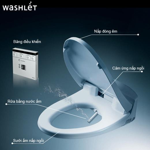 Bồn cầu tự rửa điện tử có thích hợp bàn cầu cho người già?